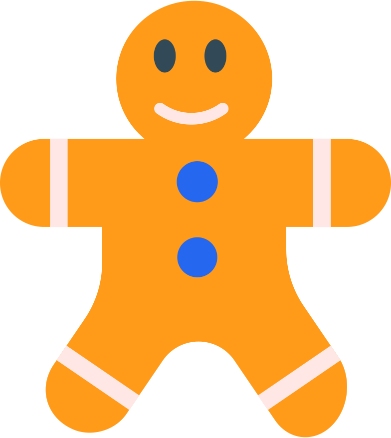style gingerbread man Vector images in PNG and SVG | Icons8 Illustrations
