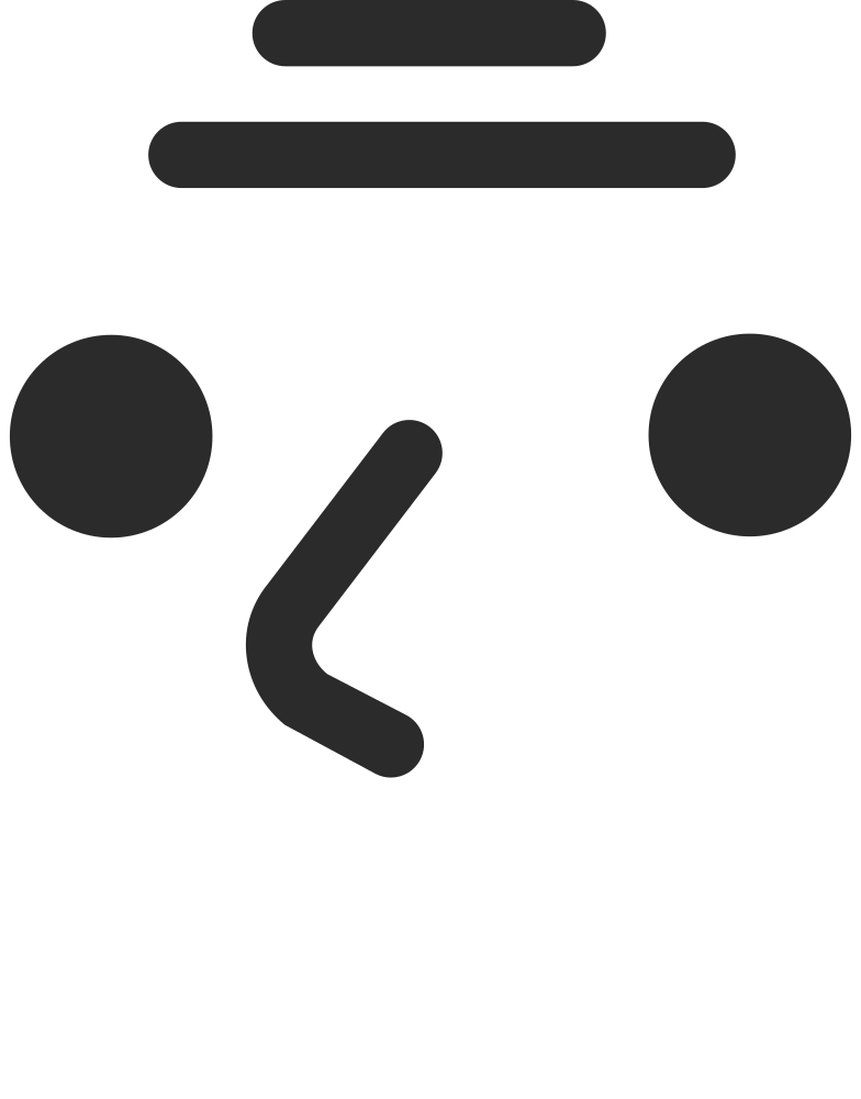 old smiling face Clipart illustration in PNG, SVG