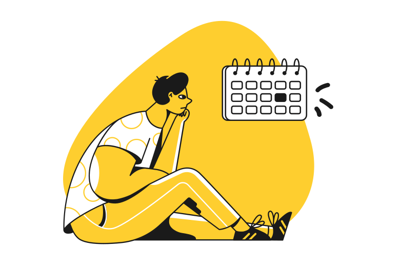style Deadline is too soon Vector images in PNG and SVG | Icons8 Illustrations