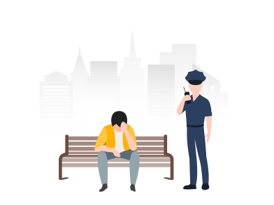 style Accident with policeman  images in PNG and SVG | Icons8 Illustrations