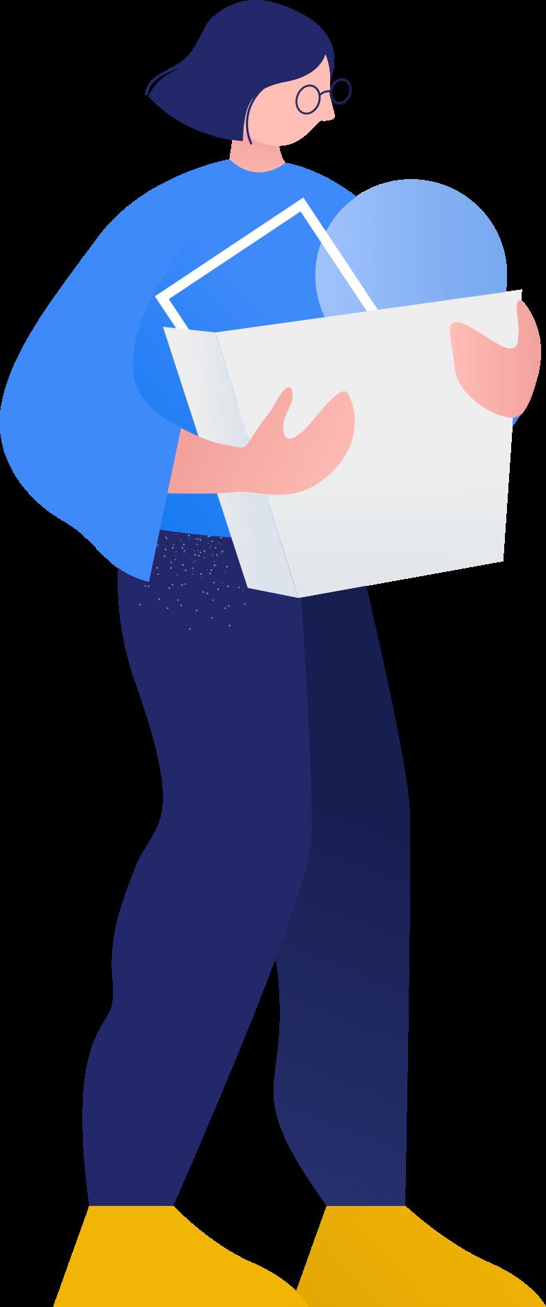 Ilustración de clipart de mujer en PNG, SVG