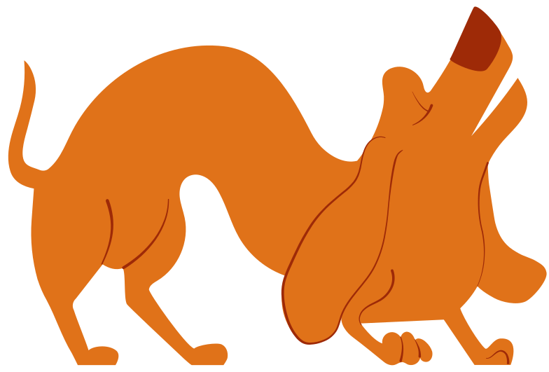 dachshund Clipart illustration in PNG, SVG