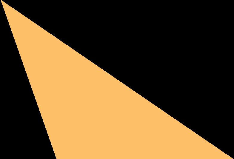 scalene orange Clipart illustration in PNG, SVG