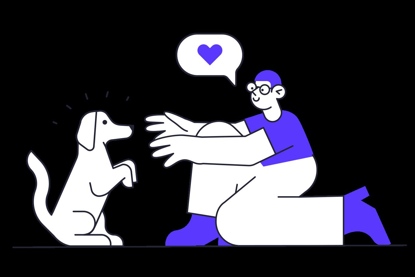 Good boy Clipart illustration in PNG, SVG