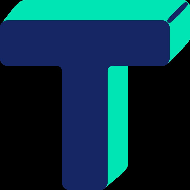 Immagine Vettoriale lettera t in PNG e SVG in stile  | Illustrazioni Icons8