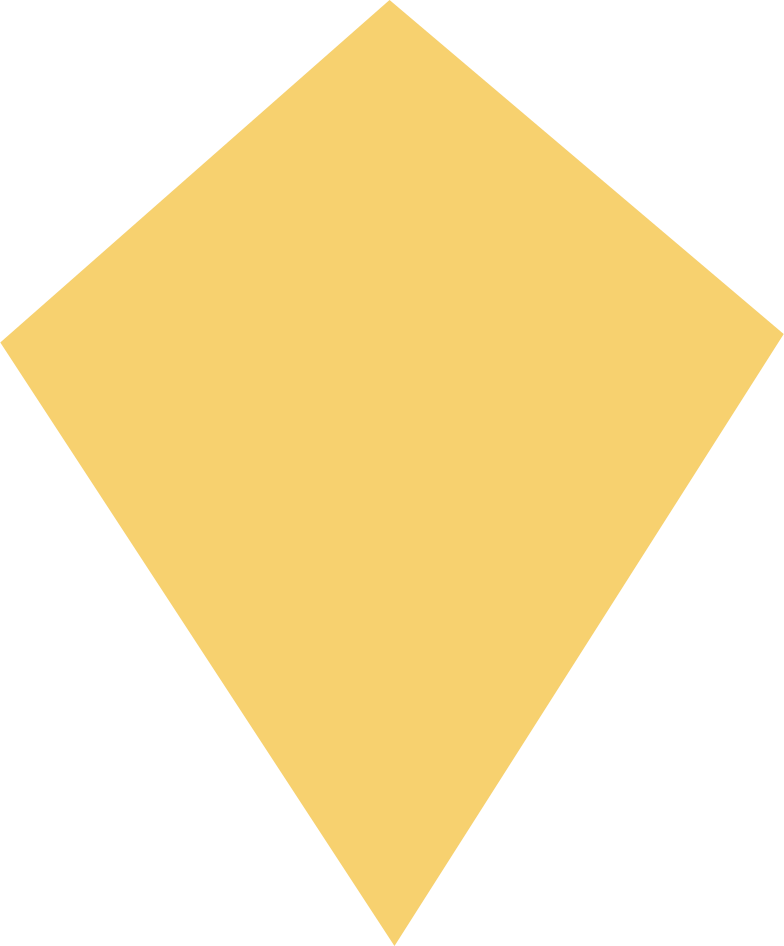 Ilustración de clipart de kite yellow en PNG, SVG