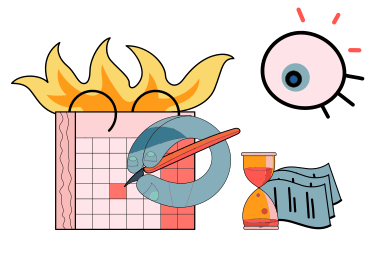 style Deadline images in PNG and SVG | Icons8 Illustrations