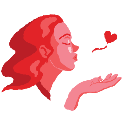 style Air kiss images in PNG and SVG | Icons8 Illustrations