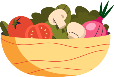style plate with vegetables images in PNG and SVG | Icons8 Illustrations