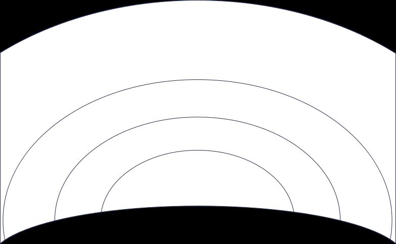 spase landscape line Clipart illustration in PNG, SVG