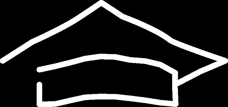 academic cap Clipart illustration in PNG, SVG