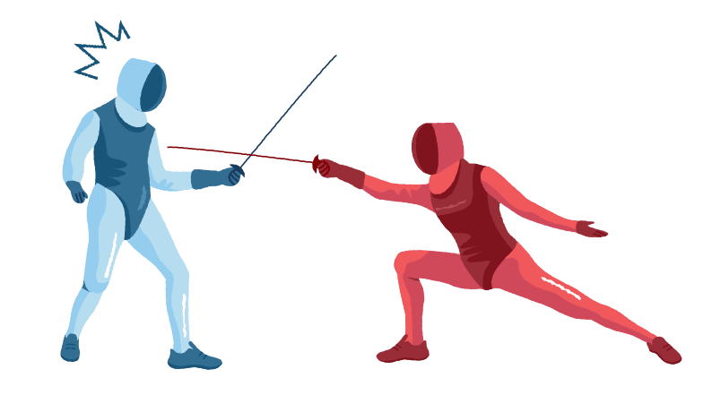 style Fencing competition Vector images in PNG and SVG | Icons8 Illustrations