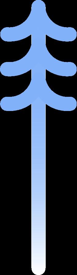 tree blue Clipart illustration in PNG, SVG