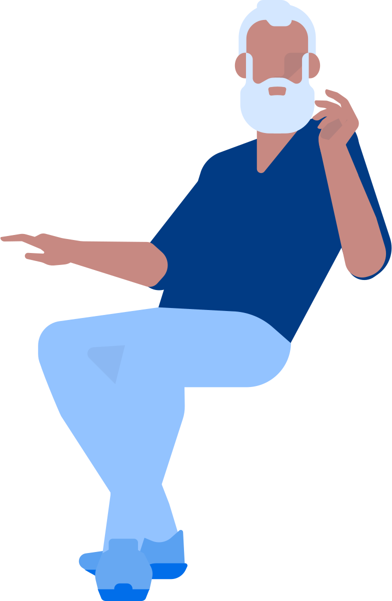 style adult man sitting Vector images in PNG and SVG | Icons8 Illustrations