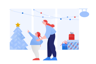 style Christmas shopping images in PNG and SVG | Icons8 Illustrations