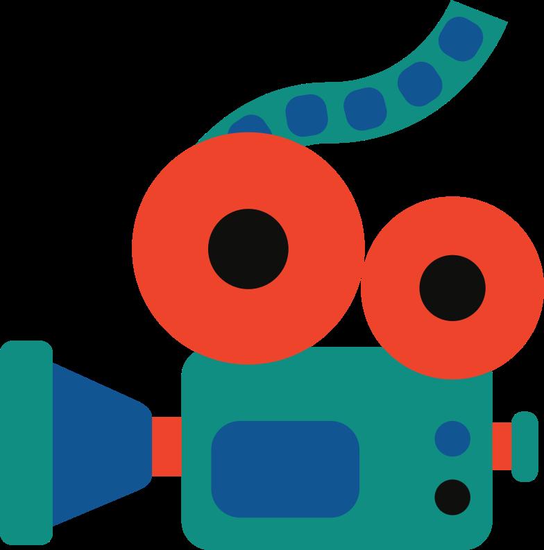 videocamera Clipart illustration in PNG, SVG