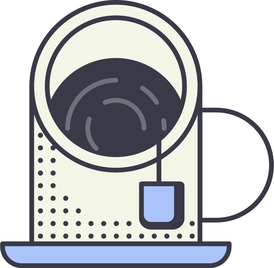 tea cup Clipart illustration in PNG, SVG