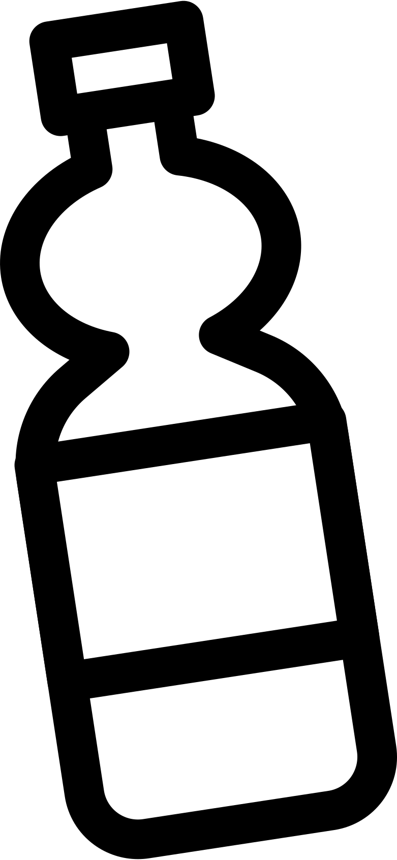 water bottle  small Clipart illustration in PNG, SVG