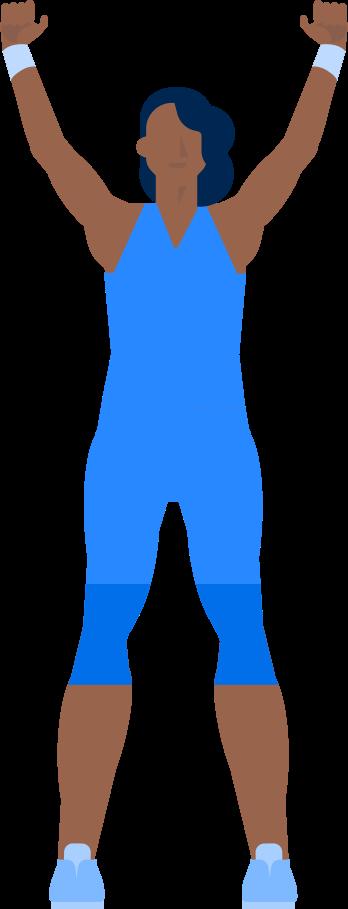 athlete Clipart illustration in PNG, SVG