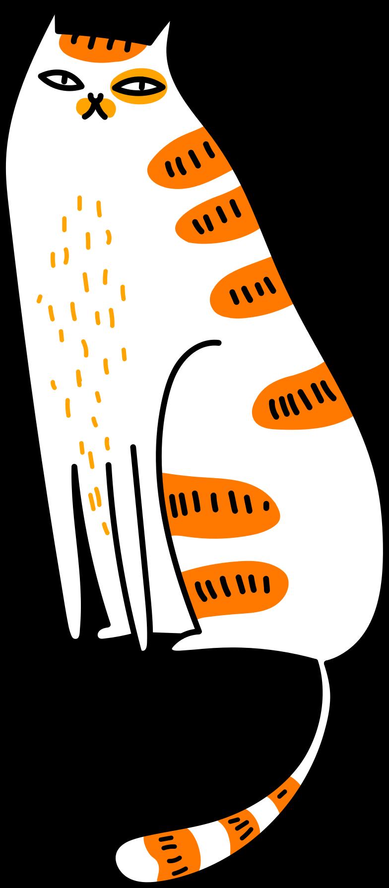 sitzende katze Clipart-Grafik als PNG, SVG