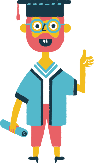style student graduating images in PNG and SVG | Icons8 Illustrations