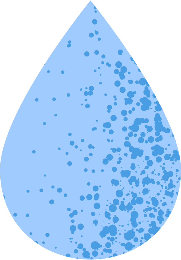 water drop Clipart illustration in PNG, SVG