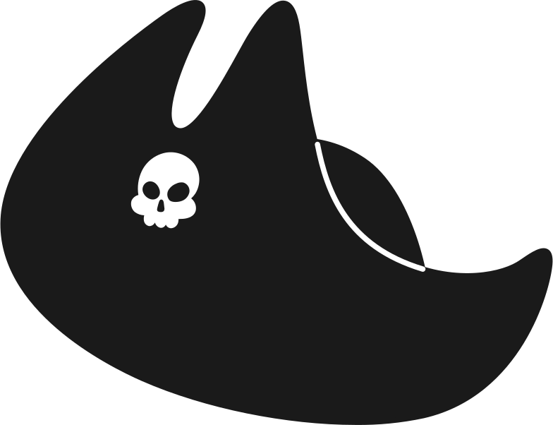 Immagine Vettoriale cappello da pirata in PNG e SVG in stile  | Illustrazioni Icons8