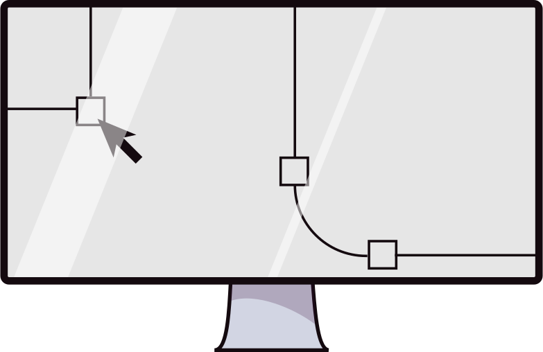 design  monitor Clipart illustration in PNG, SVG