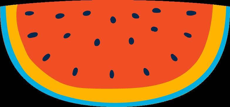 Wassermelone Clipart-Grafik als PNG, SVG