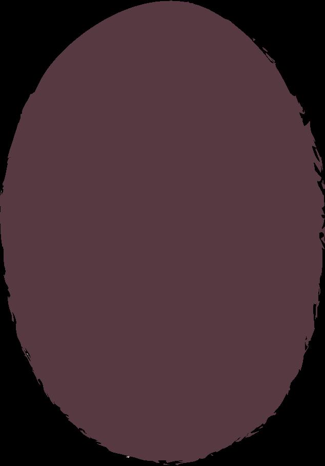 ellipse-dark-brown Clipart illustration in PNG, SVG