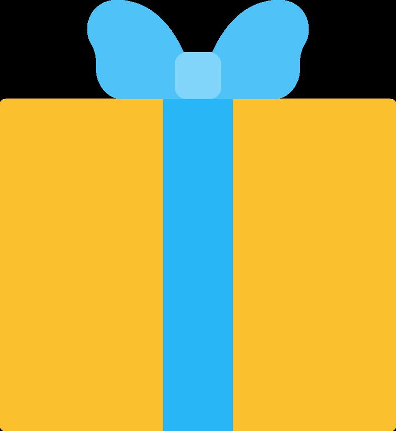 Weihnachtsgeschenk Clipart-Grafik als PNG, SVG