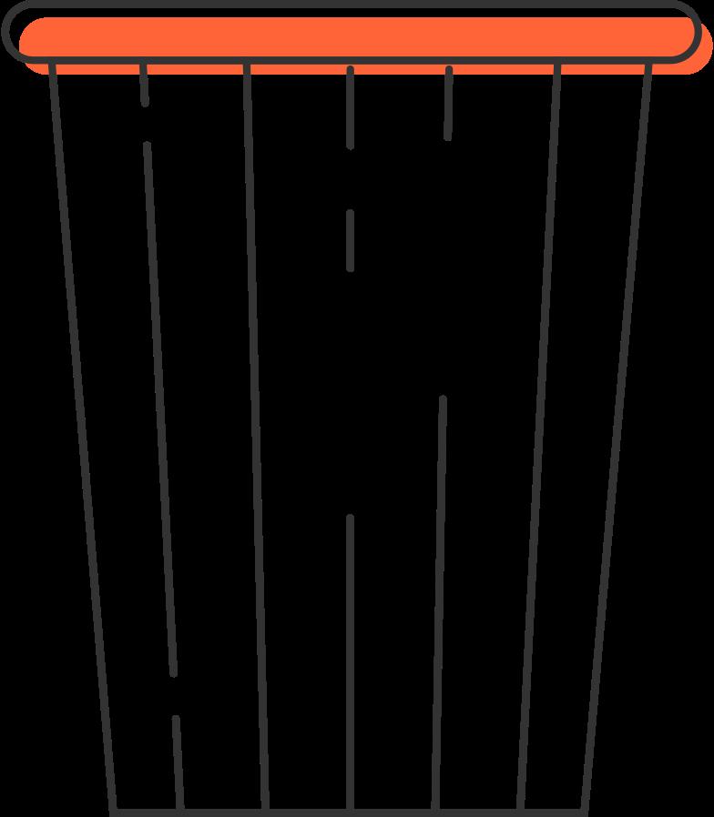 bin transparent Clipart illustration in PNG, SVG