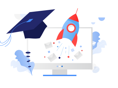 style Applying to university online images in PNG and SVG | Icons8 Illustrations