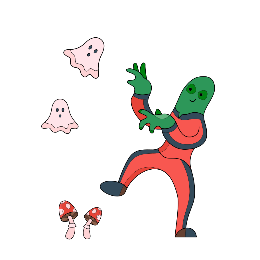Halloween dance Clipart illustration in PNG, SVG