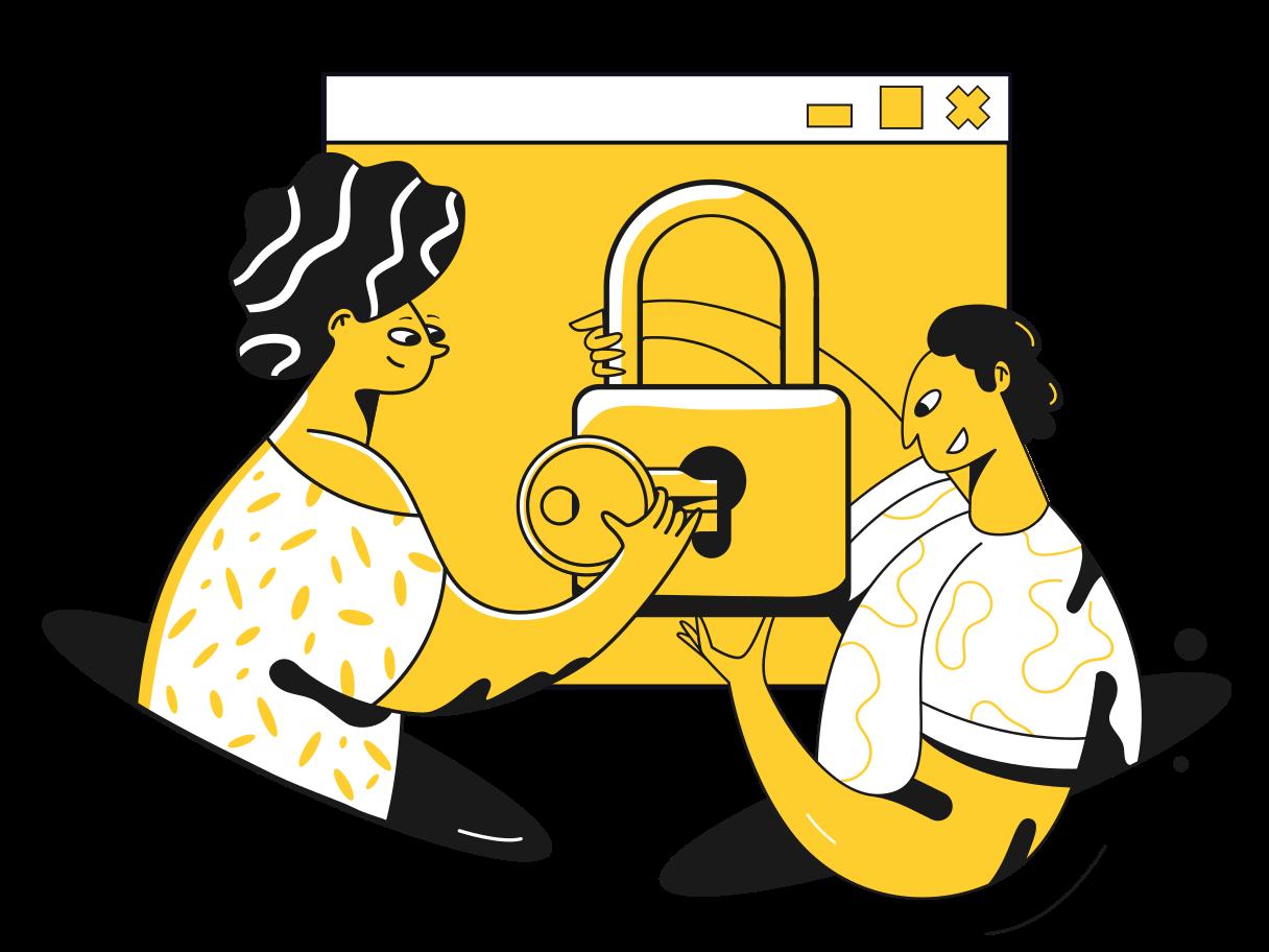 Internet sicherheit Clipart-Grafik als PNG, SVG