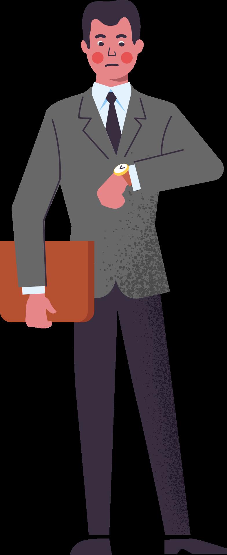 Imágenes vectoriales hombre-en-traje-con-carpeta en PNG y SVG estilo  | Ilustraciones Icons8
