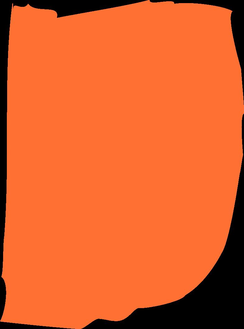 orange rectangle Clipart illustration in PNG, SVG