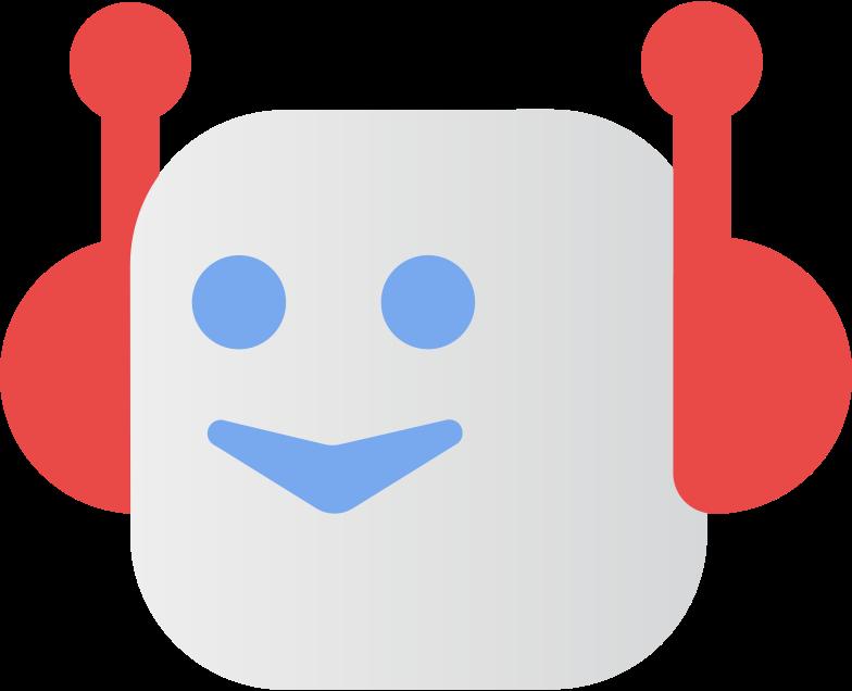 chat bot Clipart illustration in PNG, SVG