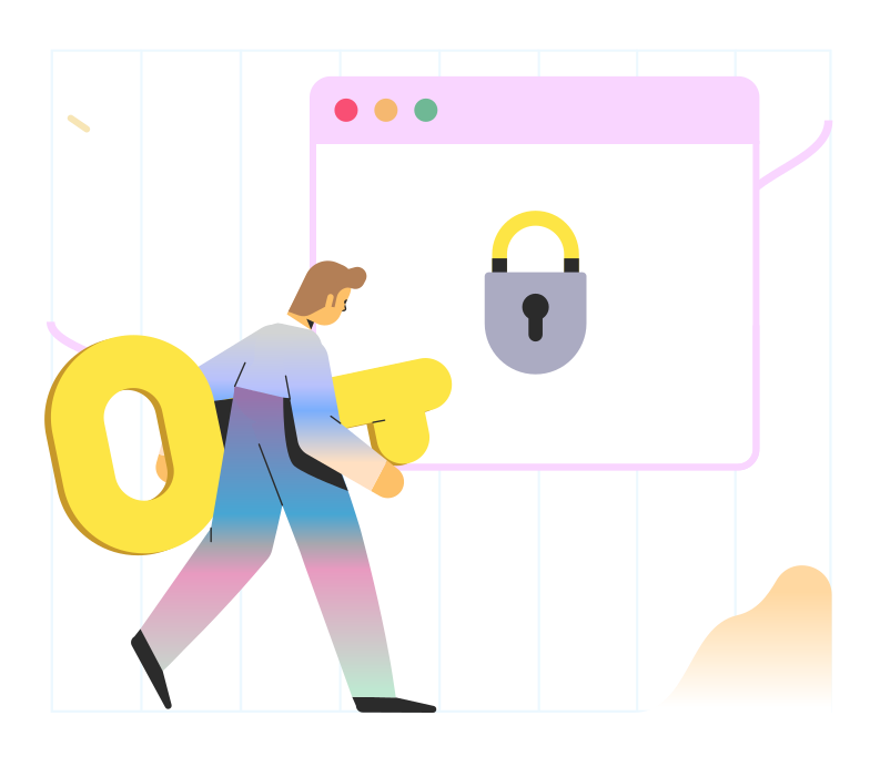 스타일 안전한 브라우저 PNG 및 SVG 형식의 벡터 이미지 | Icons8 일러스트레이션