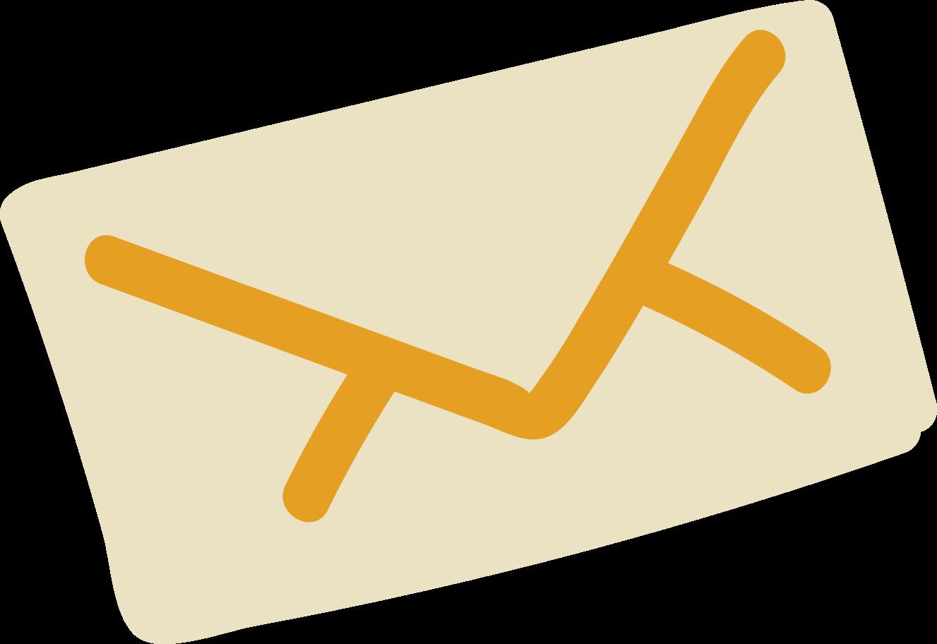 postal envelope Clipart illustration in PNG, SVG