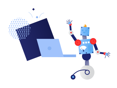 style Computer technology and robot images in PNG and SVG   Icons8 Illustrations