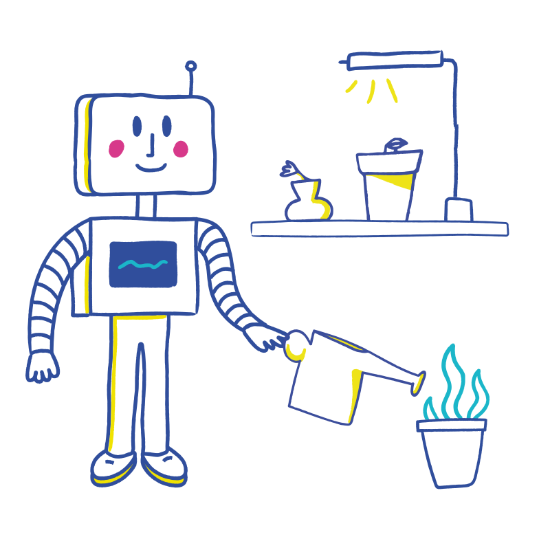 style Robo-gardener Vector images in PNG and SVG | Icons8 Illustrations