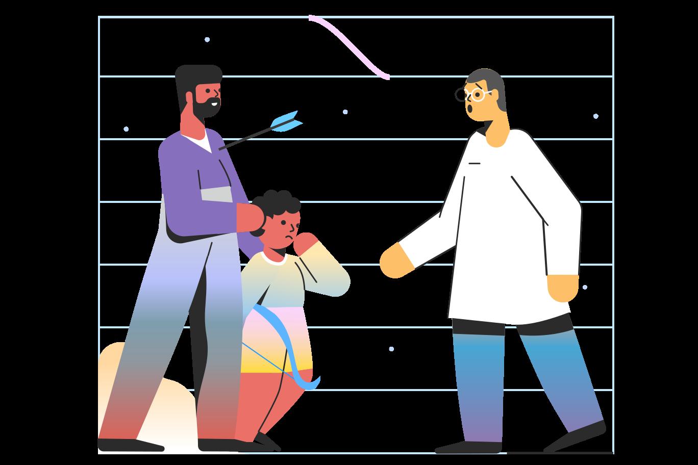 Misadventure Clipart illustration in PNG, SVG