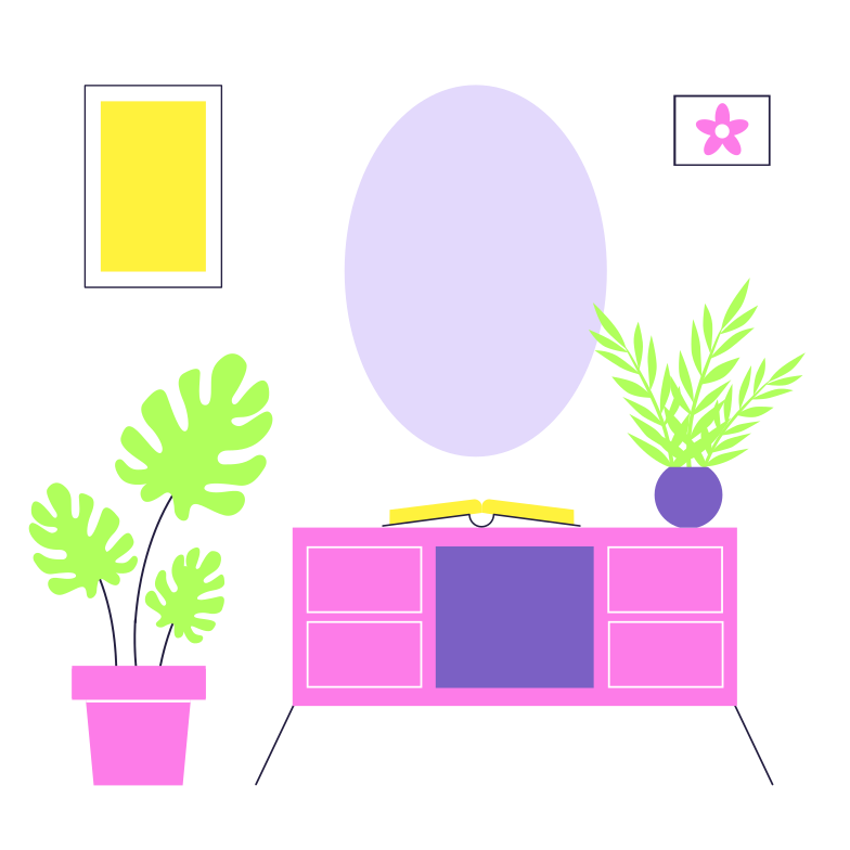 Illustration clipart Intérieur aux formats PNG, SVG