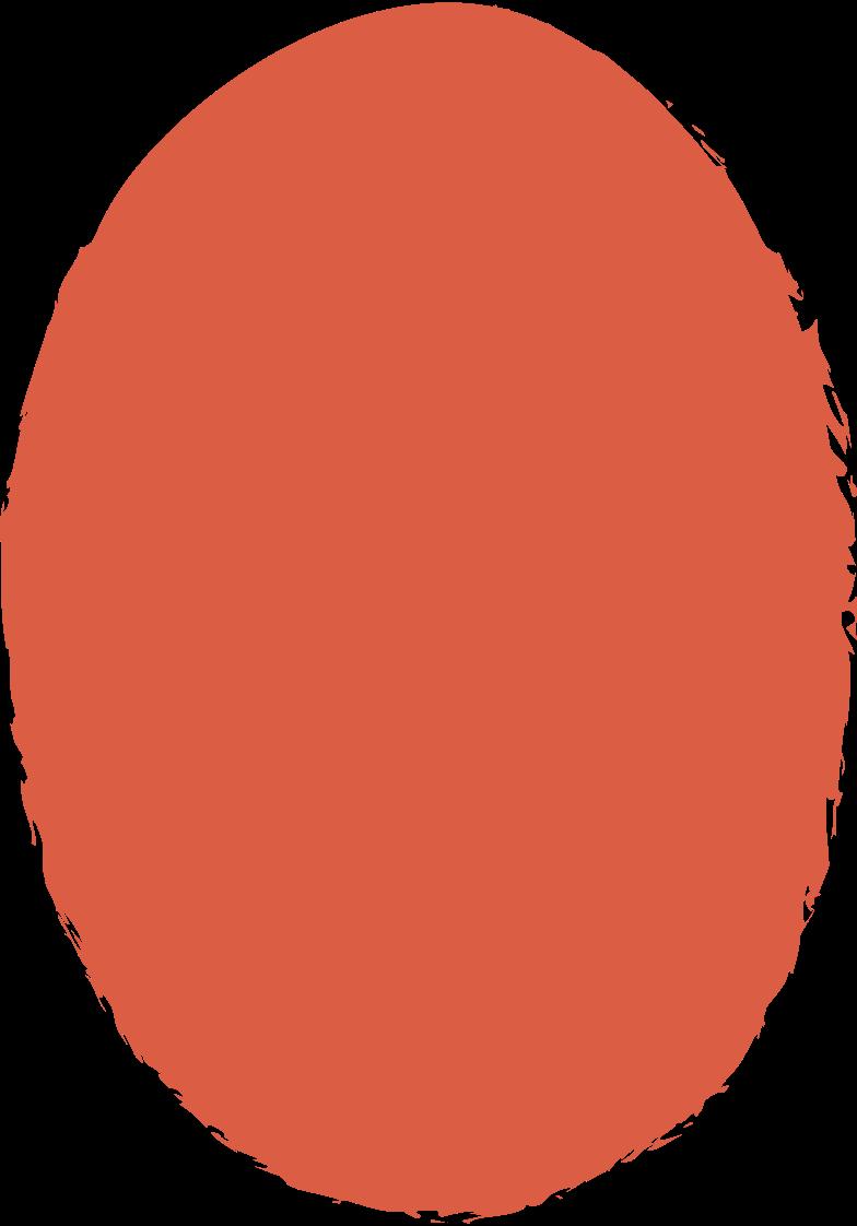 ellipse-red Clipart illustration in PNG, SVG