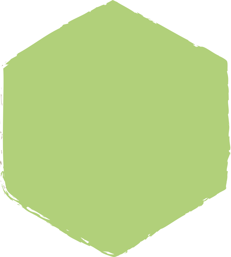 hexadon-green Clipart illustration in PNG, SVG