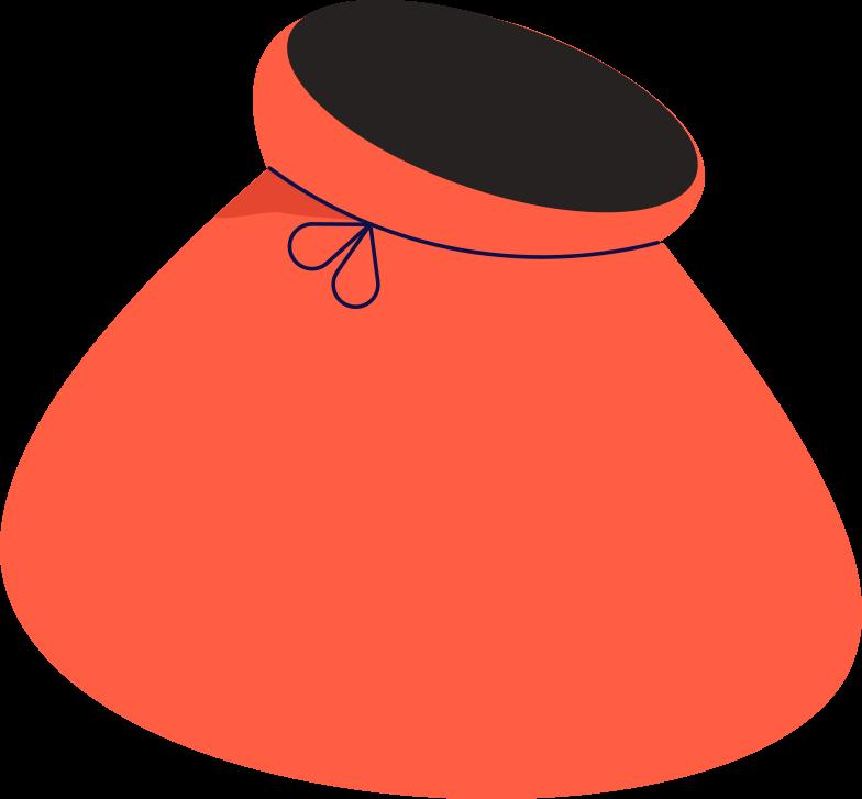 sack Clipart illustration in PNG, SVG