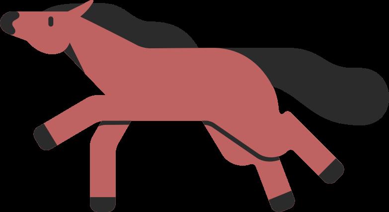 horse Clipart illustration in PNG, SVG