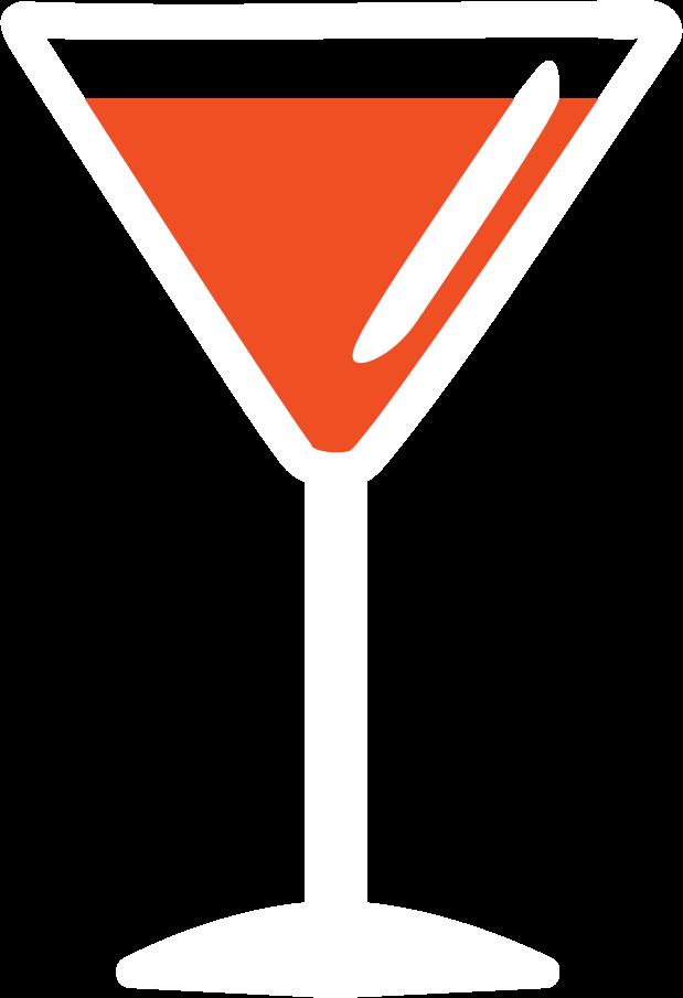 Cocktail glas Clipart-Grafik als PNG, SVG