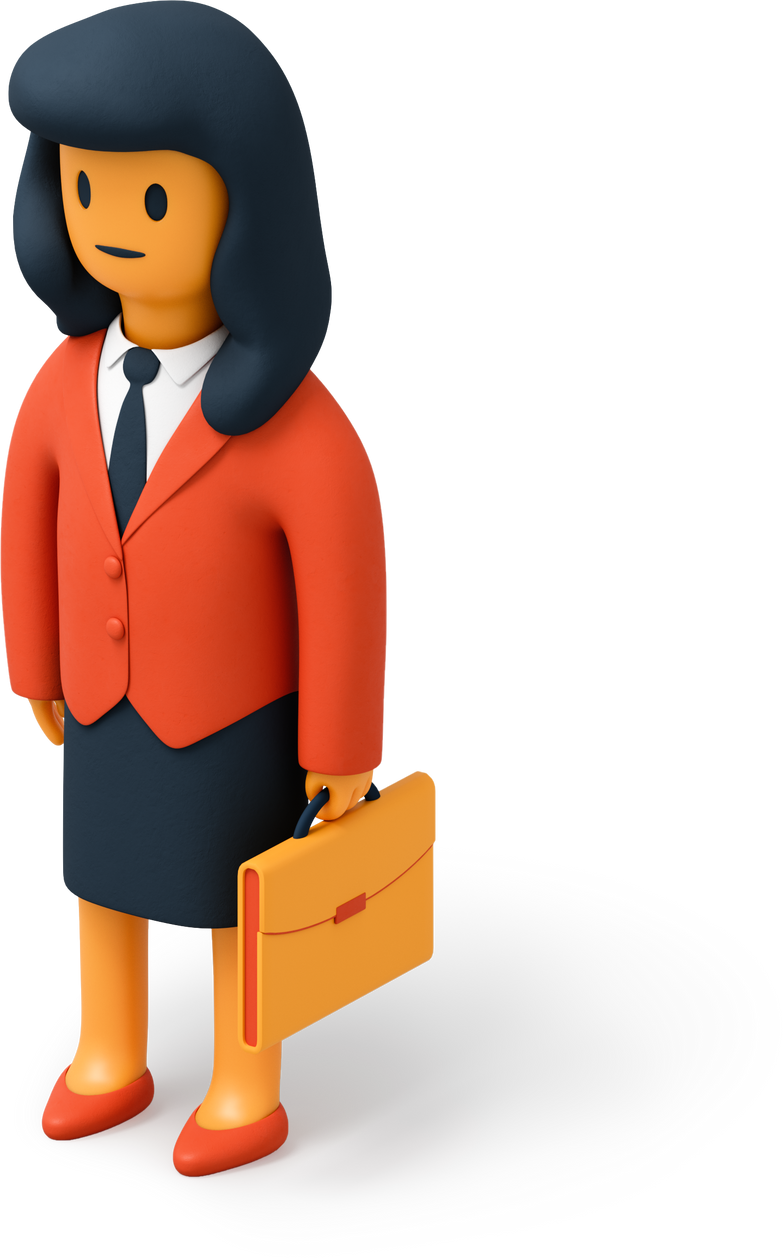 style Businesswoman with briefcase Vector images in PNG and SVG | Icons8 Illustrations